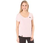 Falscher Smiley II - T-Shirt für Damen - Pink