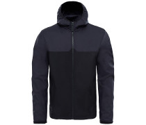 West Peak Softshel - Outdoorjacke für Herren - Schwarz
