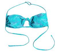 Bandeau Triangle - Bikini Oberteil für Damen - Blau
