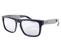 Squared Off - Sonnenbrille für Herren - Schwarz