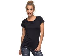 Wi So - T-Shirt für Damen - Schwarz