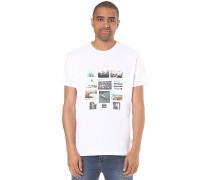 Collage - T-Shirt für Herren - Weiß