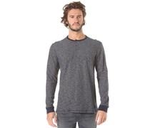 Moxee Henley - Langarmshirt für Herren - Blau