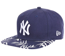Sandwash Visor Print New York Yankees - Snapback Cap für Herren - Blau