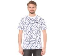 AOP Tile - T-Shirt für Herren - Blau