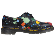 1461 Splatter Smooth Fashion Schuhe - Schwarz