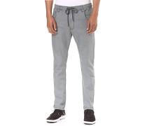 Jogger Jeans - Stoffhose für Herren - Grau