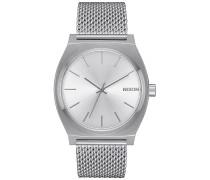 Time Teller Milanese - Uhr - Silber