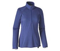 Cap TW Zip Neck - Funktionsunterwäsche für Damen - Blau