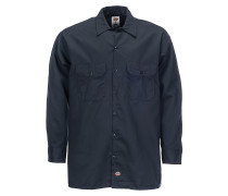Work L/S - Hemd für Herren - Blau