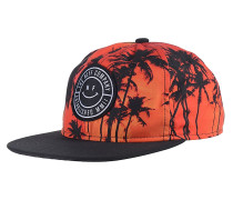 Sunset Deconstructed Snapback Cap - Orange