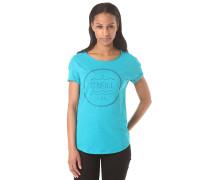 Script - T-Shirt für Damen - Blau