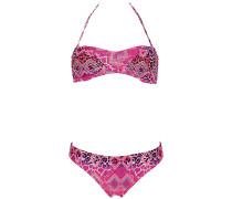 Ivette Triangle - Bikini Set für Damen - Pink