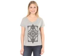 Moroccan Rug - T-Shirt für Damen - Grau