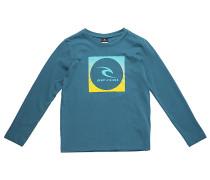 Square Logo - Langarmshirt für Jungs - Blau