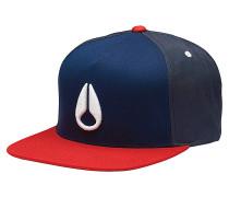 SimonSnapback Cap Blau
