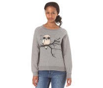 Fly Right Crewneck - Sweatshirt für Damen - Grau