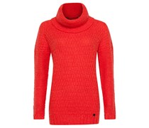 O'riginals Fused - Strickpullover für Damen - Rot