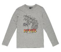 Trash Surfer - Langarmshirt für Jungs - Grau