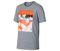 50-Palm Pic - T-Shirt - Grau