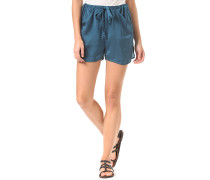 Base - Shorts für Damen - Blau