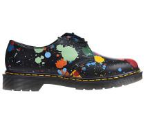 1461 Splatter Smooth Fashion Schuhe - Schwarz