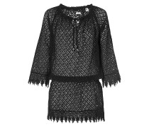 Lace Beach Cover Up - Kleid - Schwarz