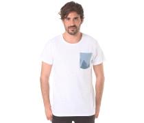 Pocket - T-Shirt für Herren - Weiß