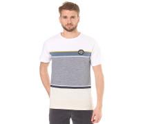 Stripes - T-Shirt für Herren - Weiß