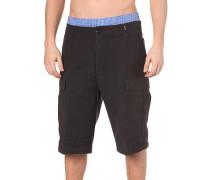 New-Appendix - Cargo Shorts - Schwarz