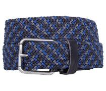 Krupa Web - Gürtel für Herren - Blau
