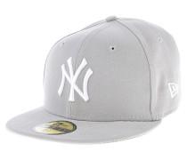 59 Fifty MLB League Basic New York YankeesFitted Cap Grau