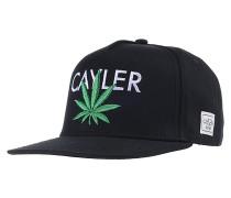 Cayler Snapback Cap - Schwarz