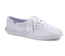 Eyelet Text - Sneaker für Damen - Weiß