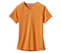 S/S Nine Trails - T-Shirt für Damen - Orange