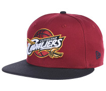 NBA Team 9Fifty Cleveland Cavaliers OTC Snapback Cap - Rot