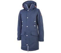 Amelia - Mantel für Damen - Blau