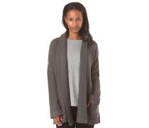 Woodland Solid - Strickjacke für Damen - Grau
