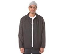 Nylon Ripstop Coach´s - Jacke für Herren - Schwarz