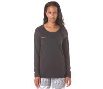 Risingrun - Langarmshirt für Damen - Schwarz