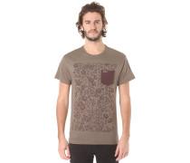 Snapper A/O Pocket - T-Shirt für Herren - Beige