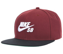 Pro Snapback Cap - Rot
