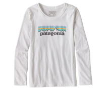 Pastel P-6 Logo L/S - Langarmshirt für Mädchen - Weiß