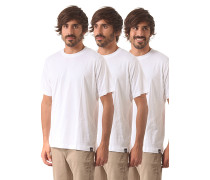 3 Pack - T-Shirt für Herren - Weiß