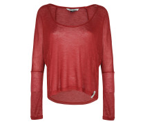 Hurrah - Langarmshirt für Damen - Rot