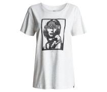 No Man - T-Shirt für Damen - Grau
