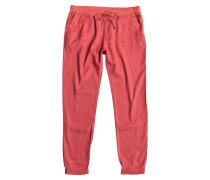 Silver - Stoffhose für Damen - Rot