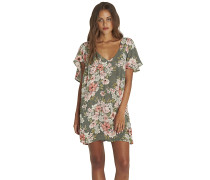Fine Flutter - Kleid - Grün