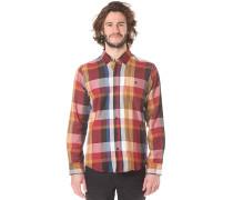 Heavy L/S - Hemd für Herren - Rot