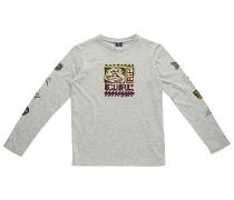 Picto Fluo - Langarmshirt für Jungs - Grau